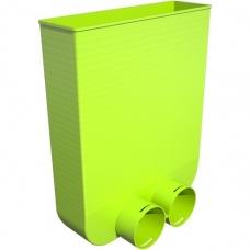 AE34c plastikinė grindų grotelių dėžutė, 296x80 mm - 2xDN75 Air Excellent