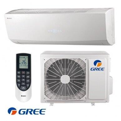 GREE šilumos siurblys Oras-Oras LOMO NORDIC 3,5/3,67 KW