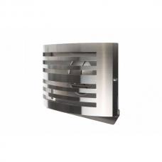 Lauko padavimo/ištraukimo nerūdijančio plieno grotelės su tinkleliu, LHA200