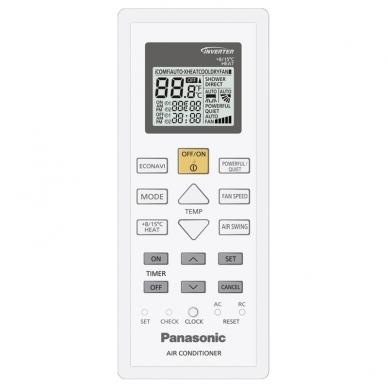 Panasonic Etherea Inverter+ šilumos siurblys CS-NZ35VKE/ CU-NZ35VKE 3